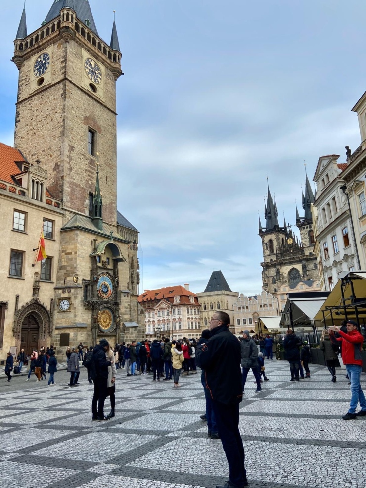 Old Town Square Prague Astronomical Clock