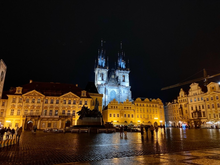 Old Town Square Prague Night