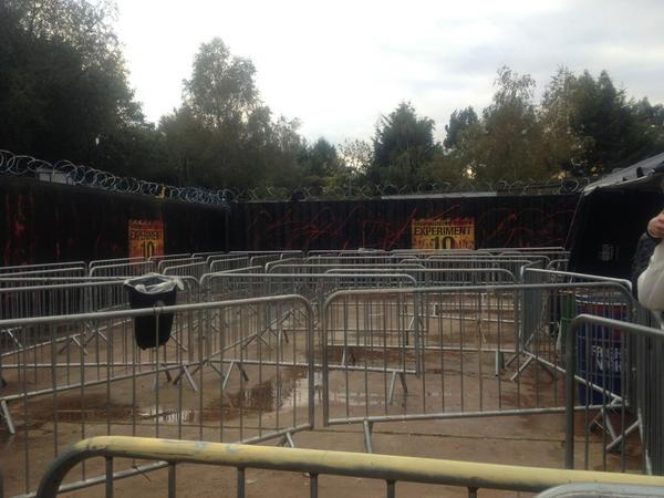 Experiment 10 at Thorpe Park Fright Nights