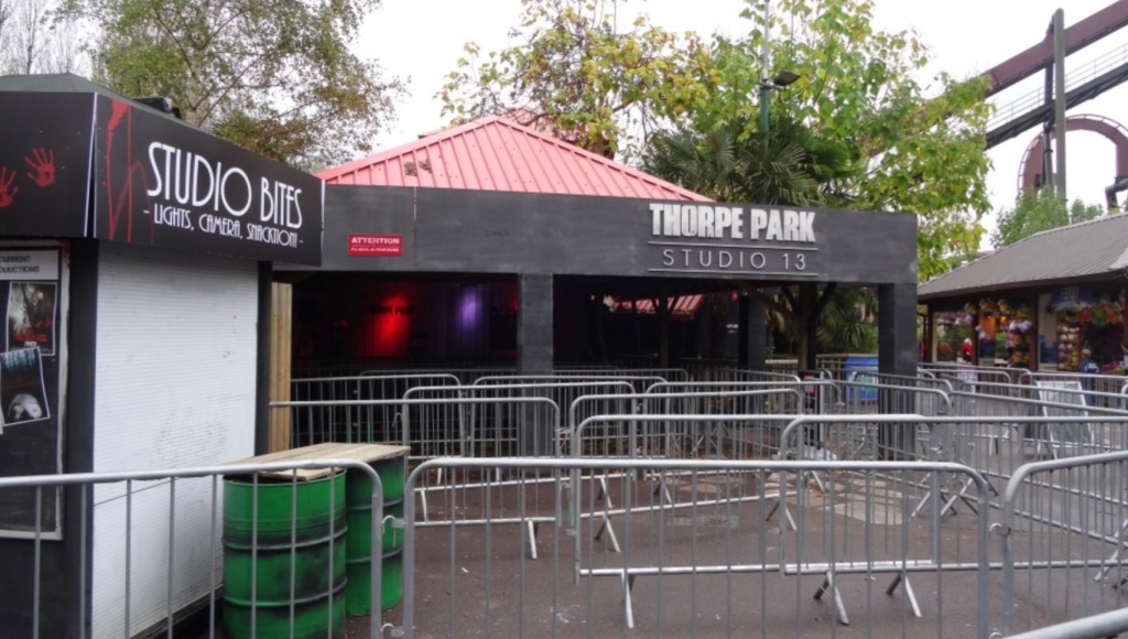 Studio 13 at Thorpe Park Fright Nights