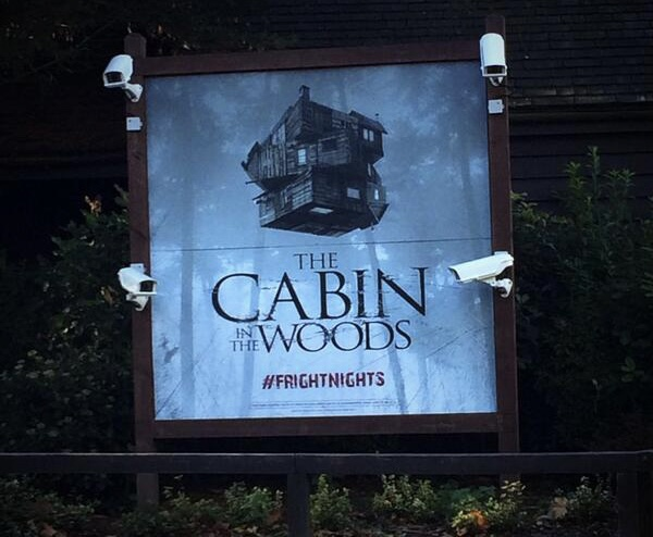 Cabin in the Woods at Thorpe Park Fright Nights