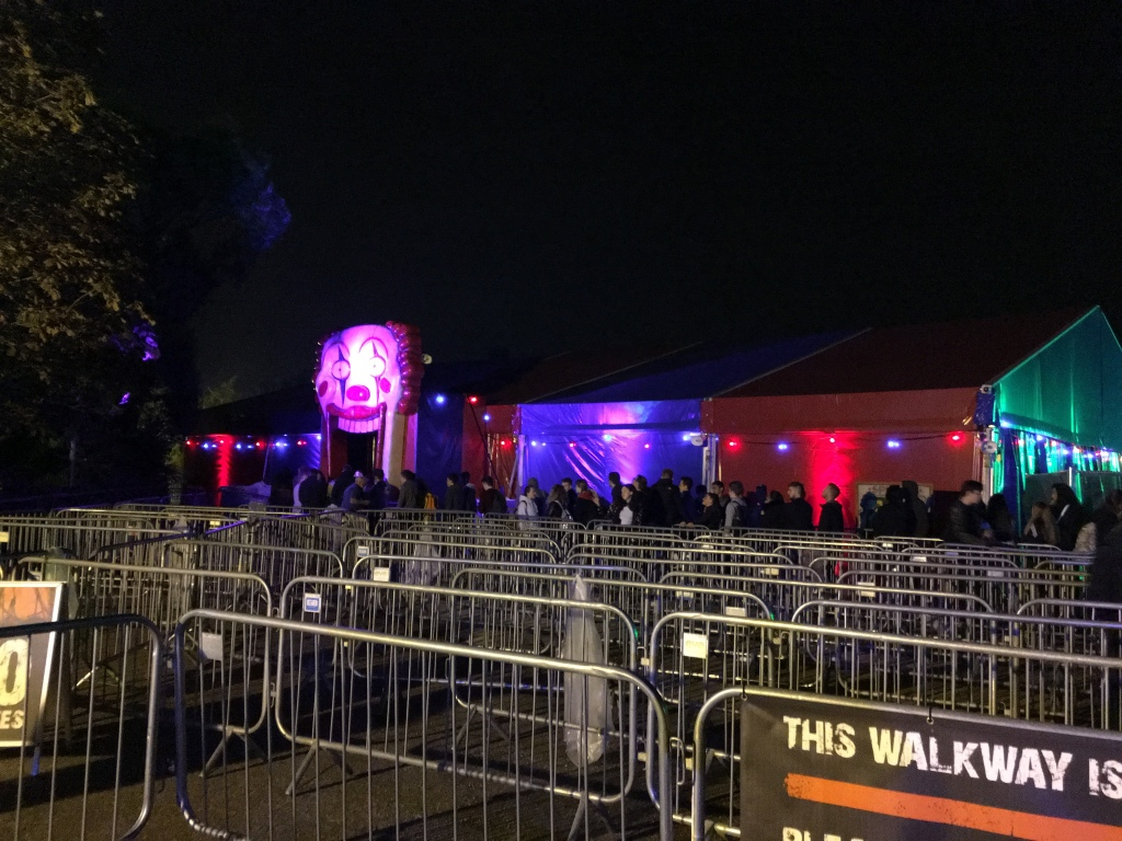 The Big Top at Thorpe Park Fright Nights