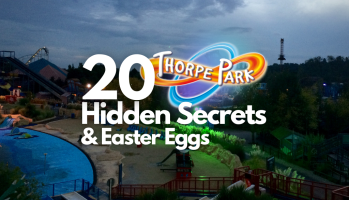 Thorpe Park HIDDEN SECRETS and Easter Eggs