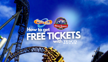 How to get cheap or FREE Alton Towers and Thorpe Park tickets with Tesco Clubcard
